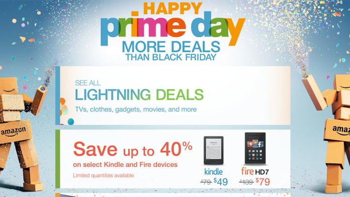 Screenshot showing an amazon promotional banner