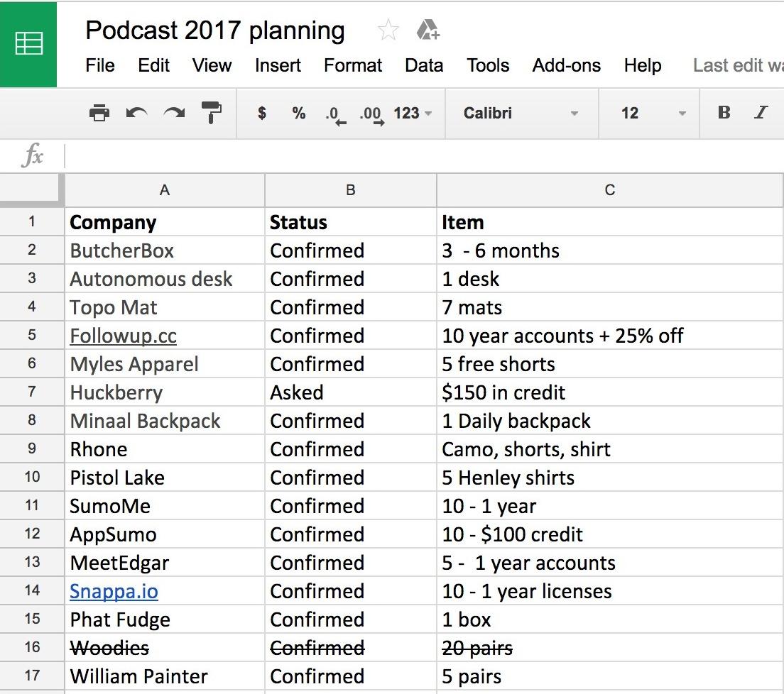 Podcast Format Template Erkalnathandedecker
