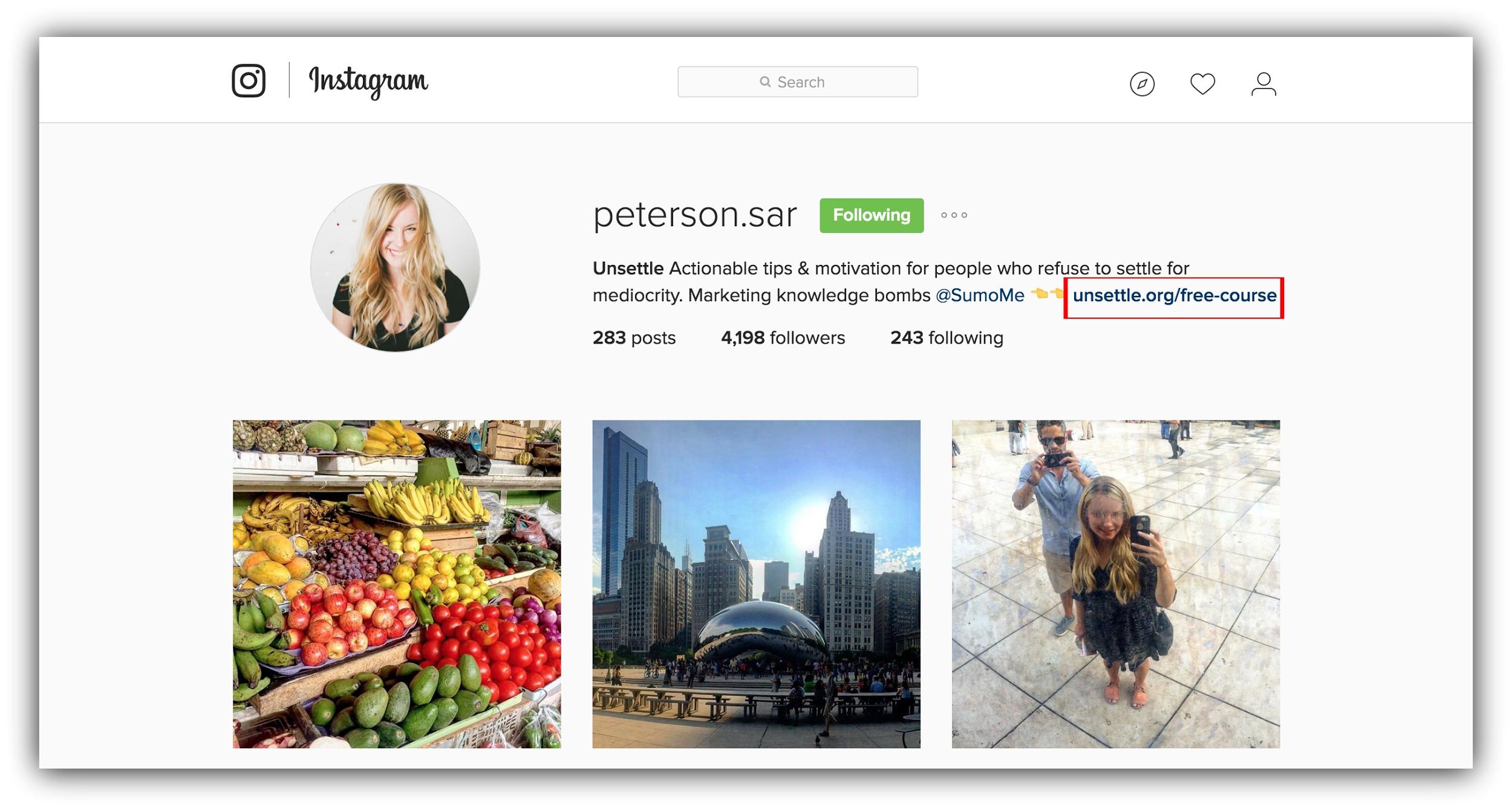 instagram profile hacks