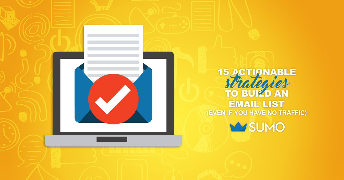 how to build email liste shopify