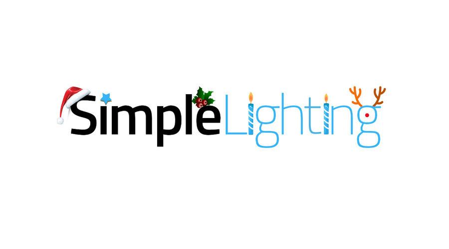 Screenshot showing a christmas themed-logo
