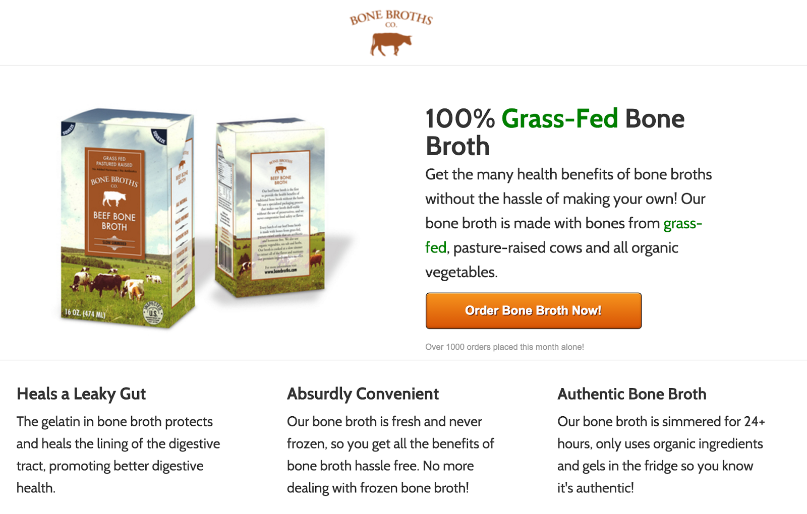 bone broths co grass-fed