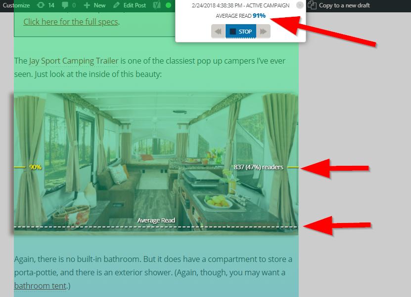 Screenshot showing Sumo heat map setup