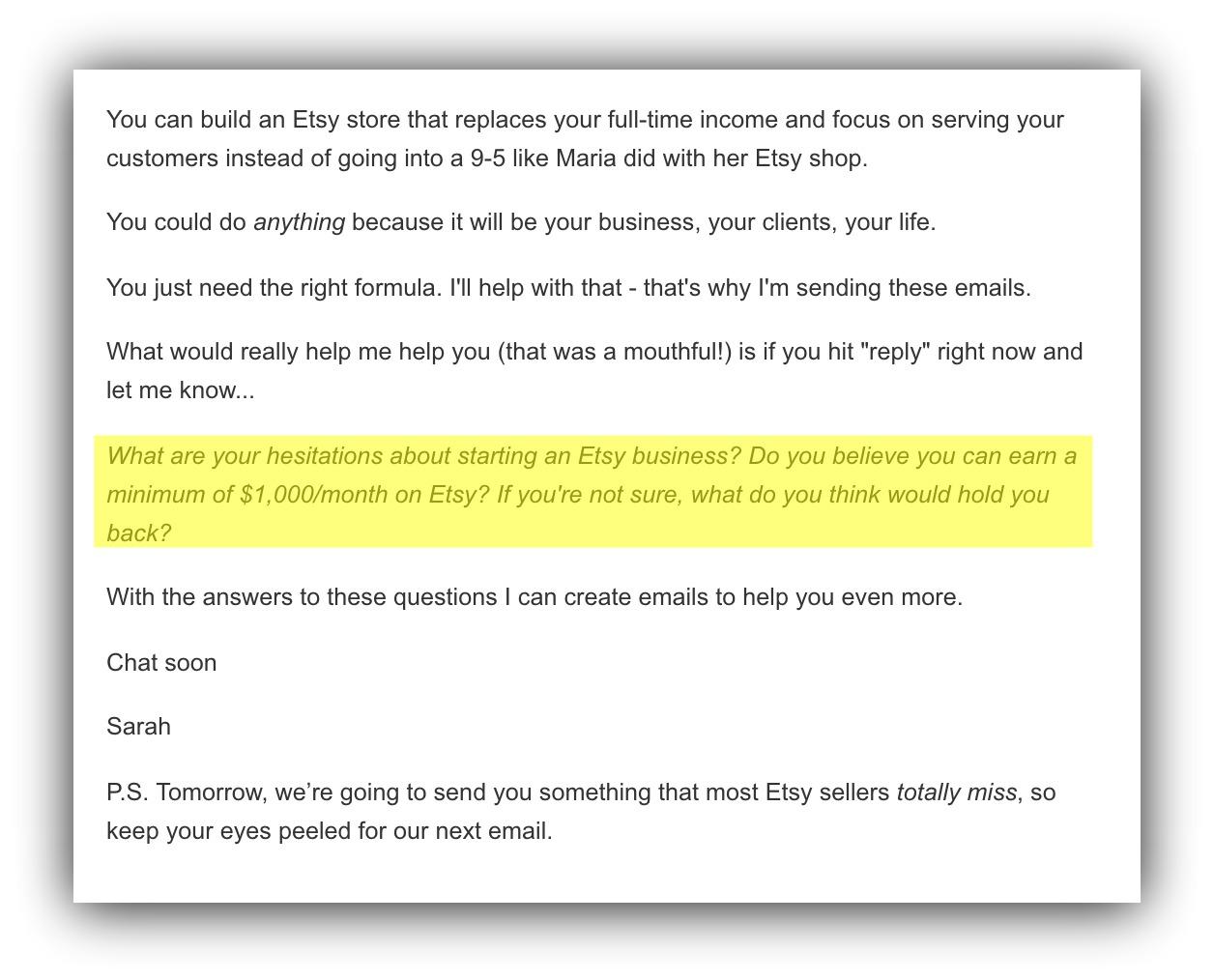 etsy store blog