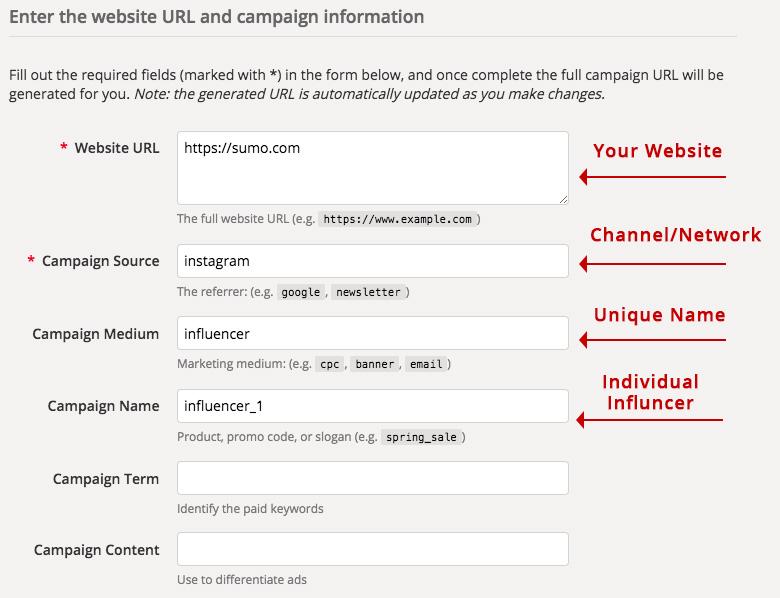Screenshot showing a form
