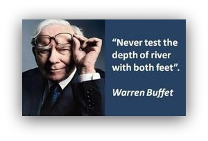 Screenshot of a quote by Warren Buffett