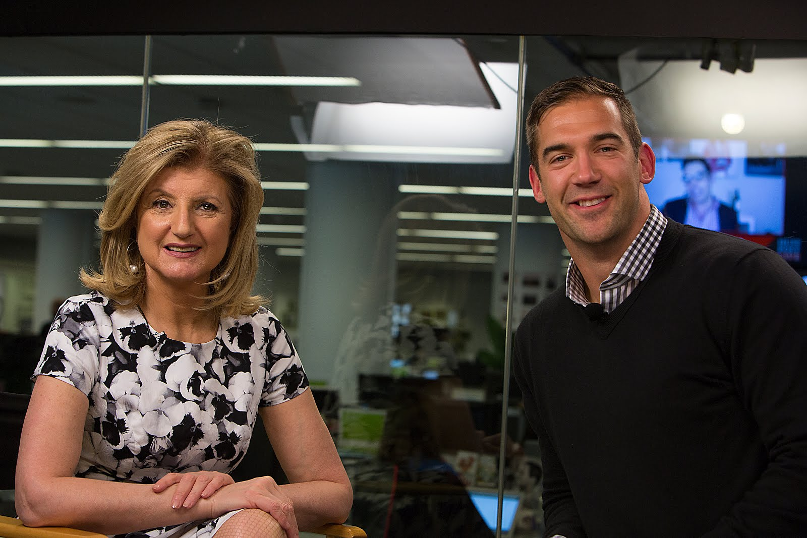 Lewis Howes Arianna Huffington