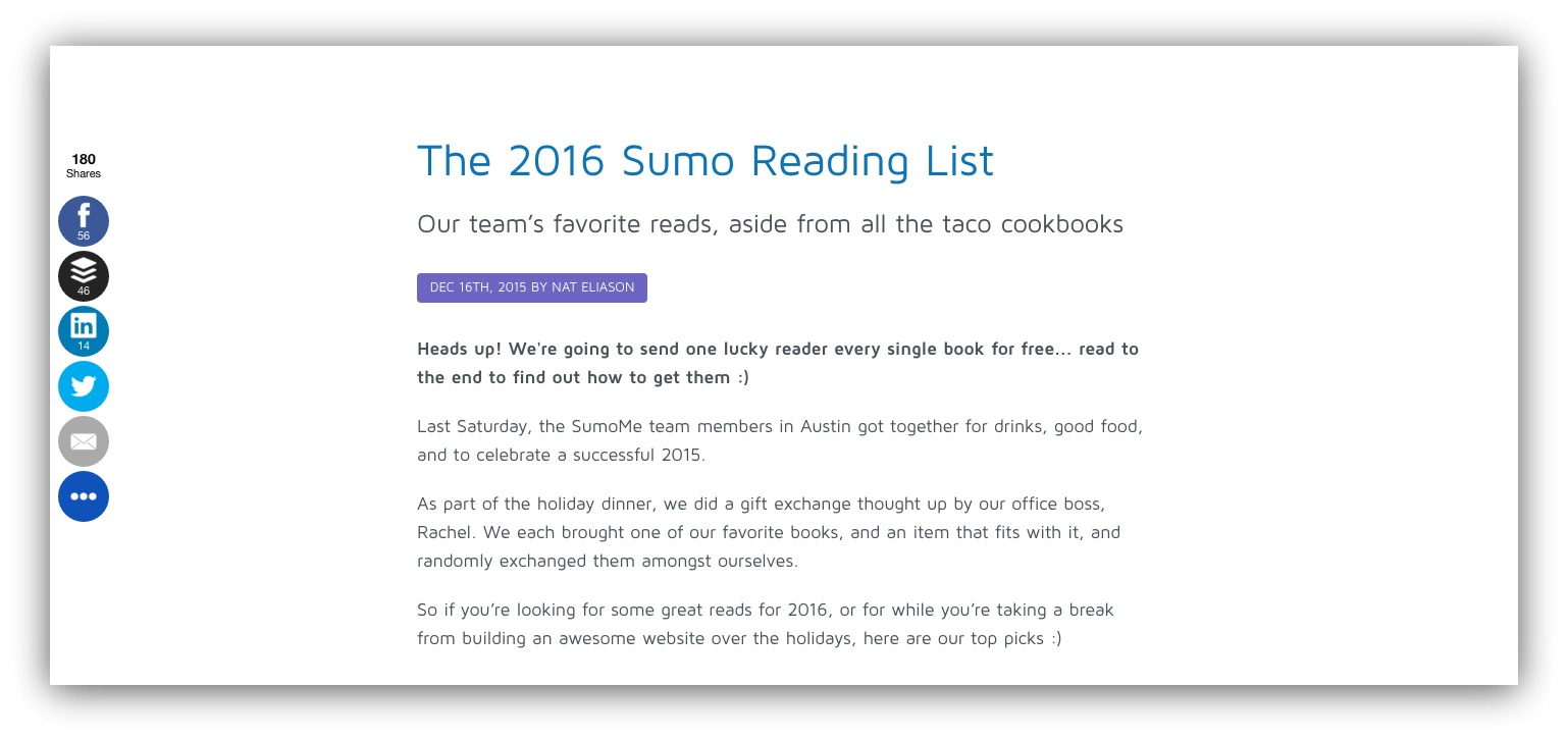 the 2016 sumo reading list