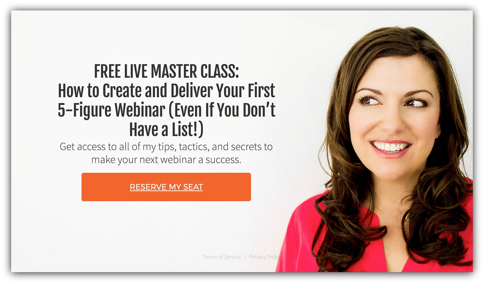 amy porterfield landing page