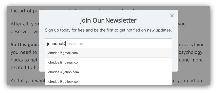 auto-email-complete-sumo