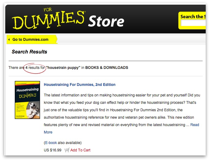 for dummies store
