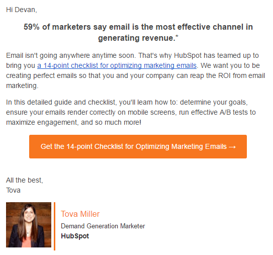 32 Brilliant Email Marketing Examples To Inspire You