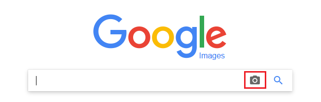 Screenshot showing google photo search option
