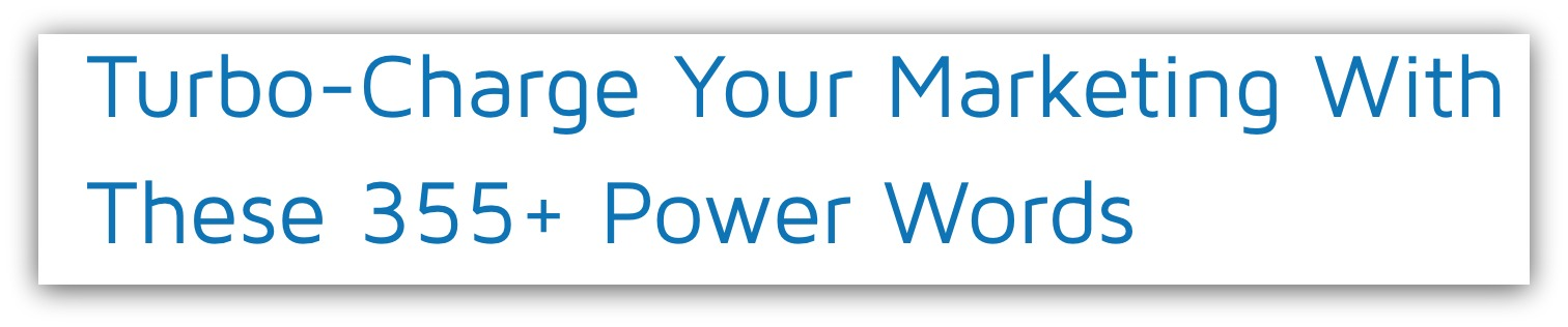 power words for blog seo