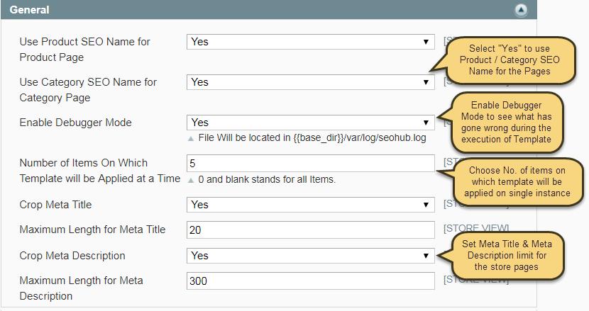 Screenshot showing the settings for a plugin