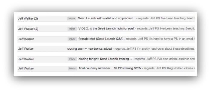 high-converting email sequence