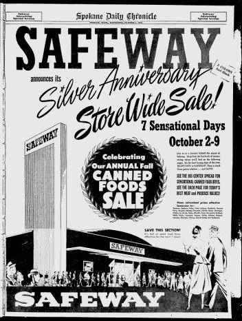 Screenshot showing scarcity marketing in action in a very old ad
