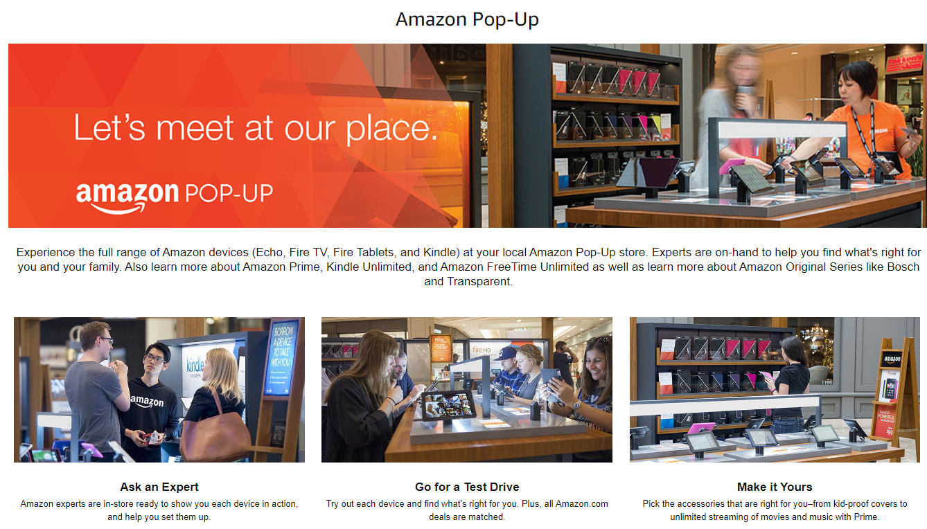 Screenshot showing information about amazon popup