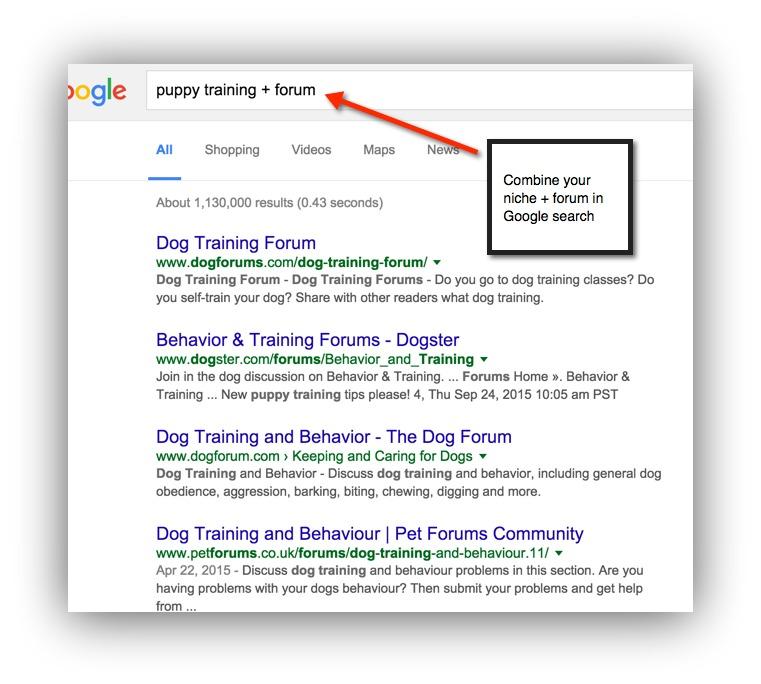 puppy training forum