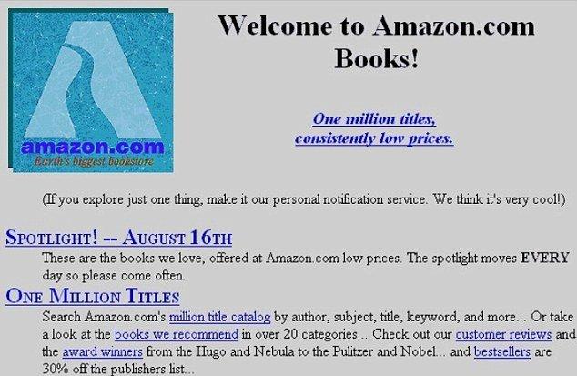 Screenshot showing Amazon