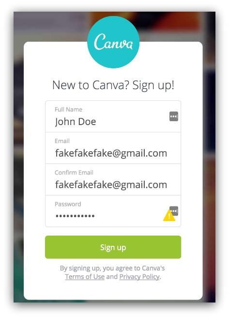 canva-login-fake