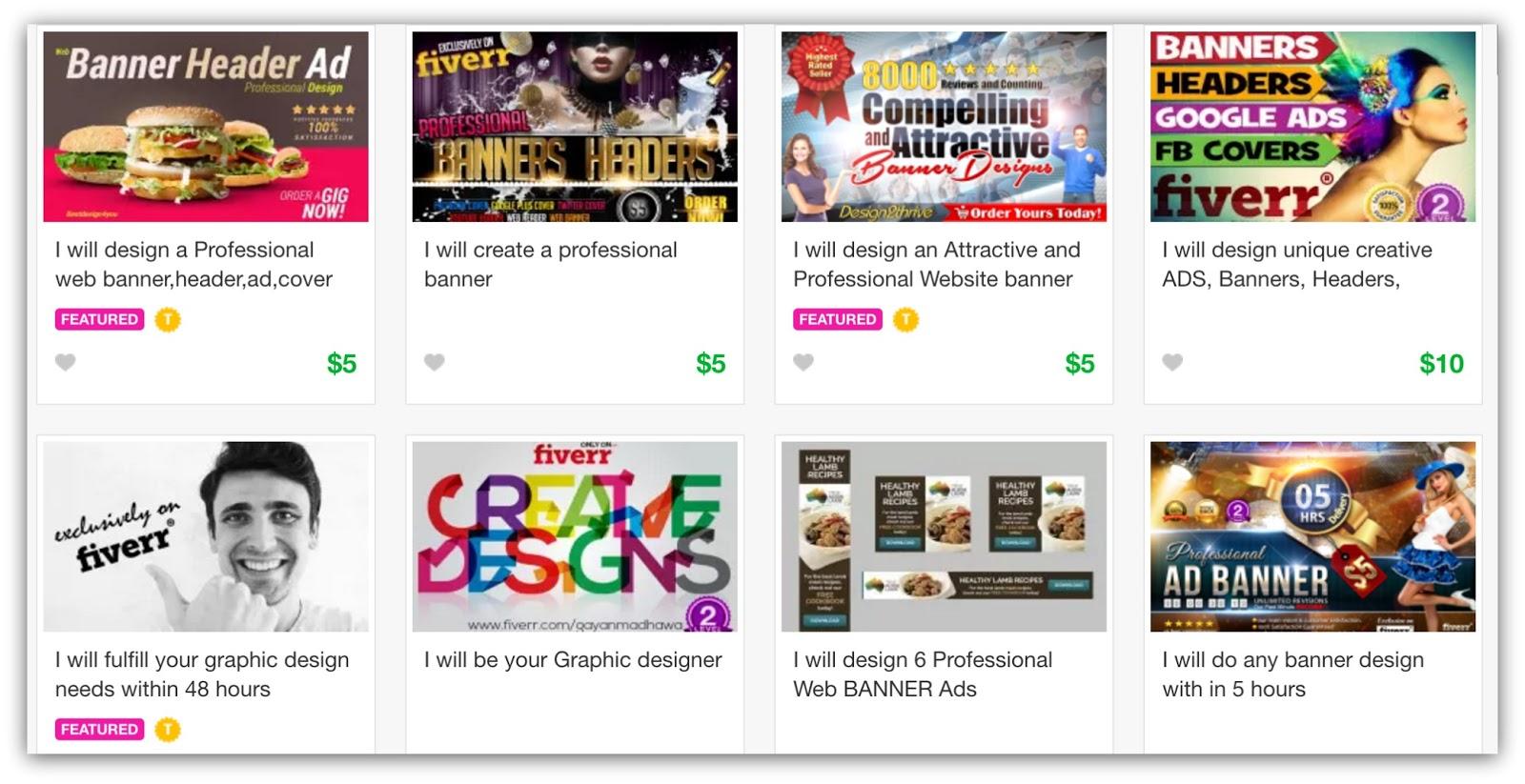 website banner examples