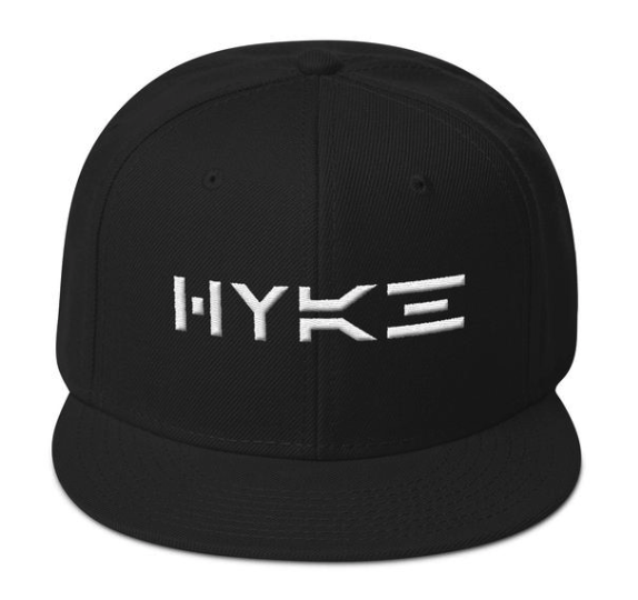Picture showing HYKE hat