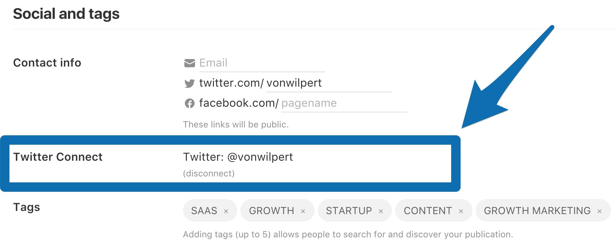Screenshot showing Chris Von Wilpert