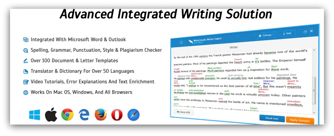 advanced integrated writing solution