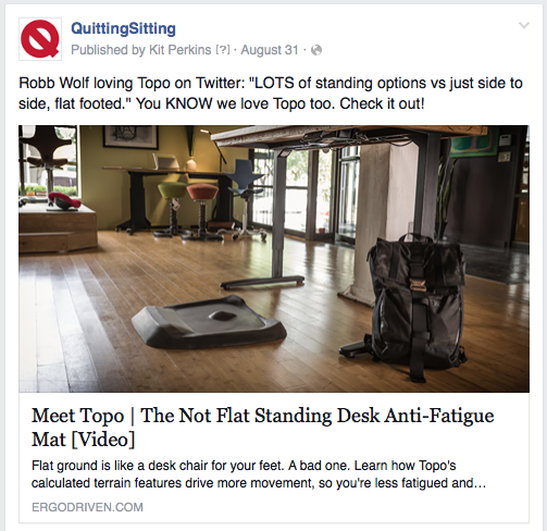 Quitting sitting facebook ads