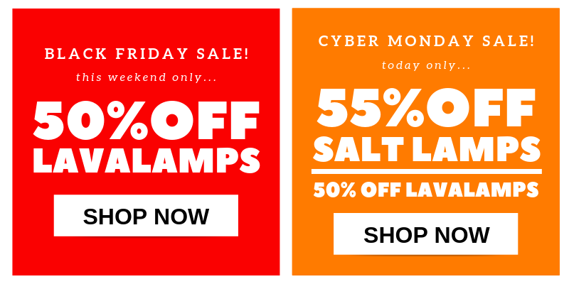 Screenshot showing two cyber monday promo banners