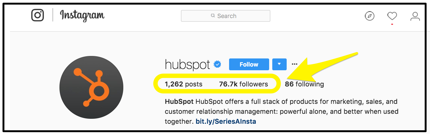 Screenshot showing hubspot