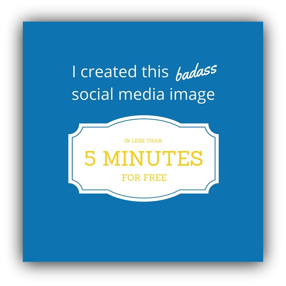 how to create social media images
