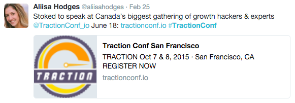 traction conf twitter