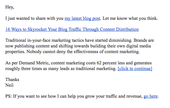 32 brilliant email marketing examples to inspire you sumo - Email Examples