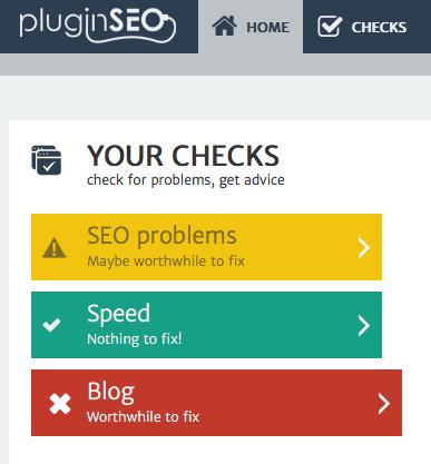 Screenshot showing pluginSEO