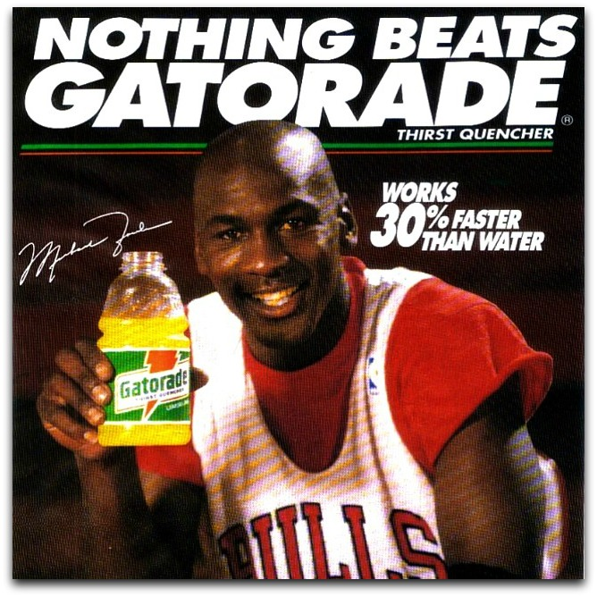 nothing beats gatorade
