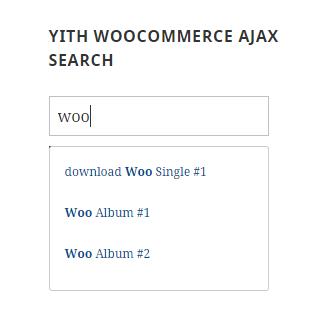 Screenshot showing a search plugin