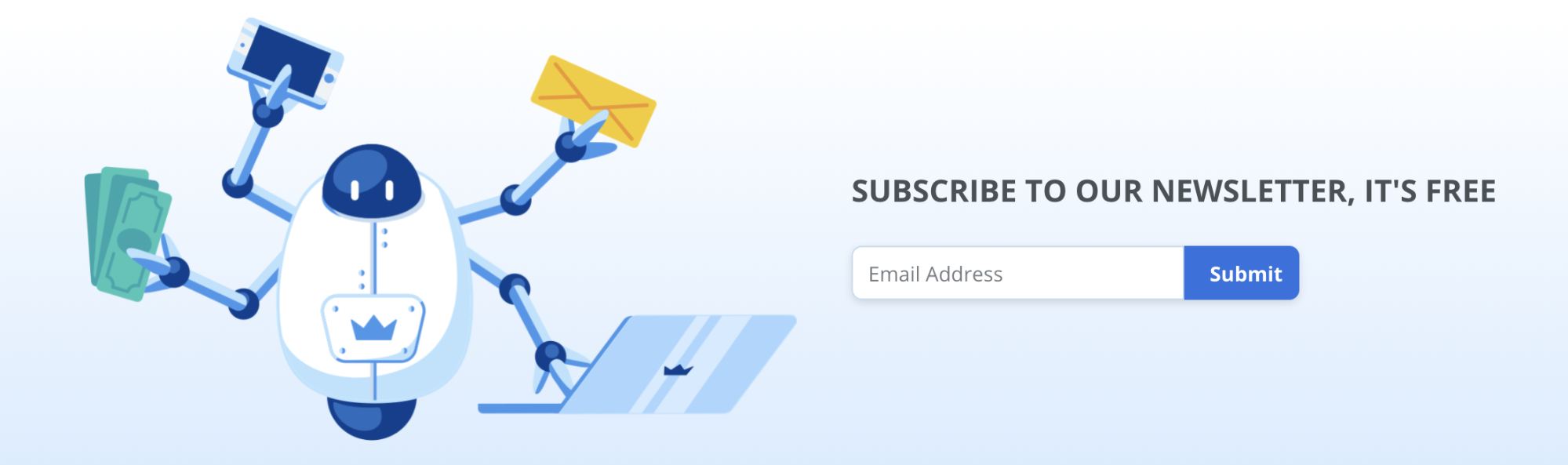Screenshot showing the subscribe button on Sumo