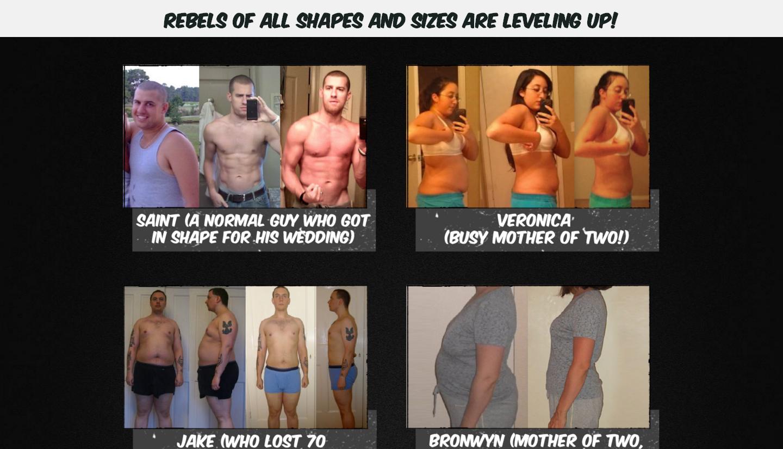 Nerd Fitness testimonials