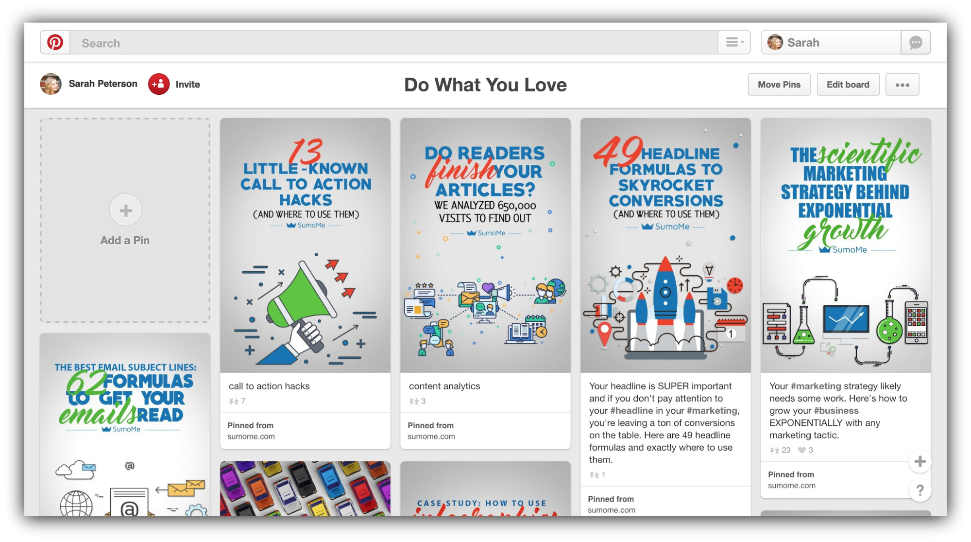 email-call-to-action-pinterest-board