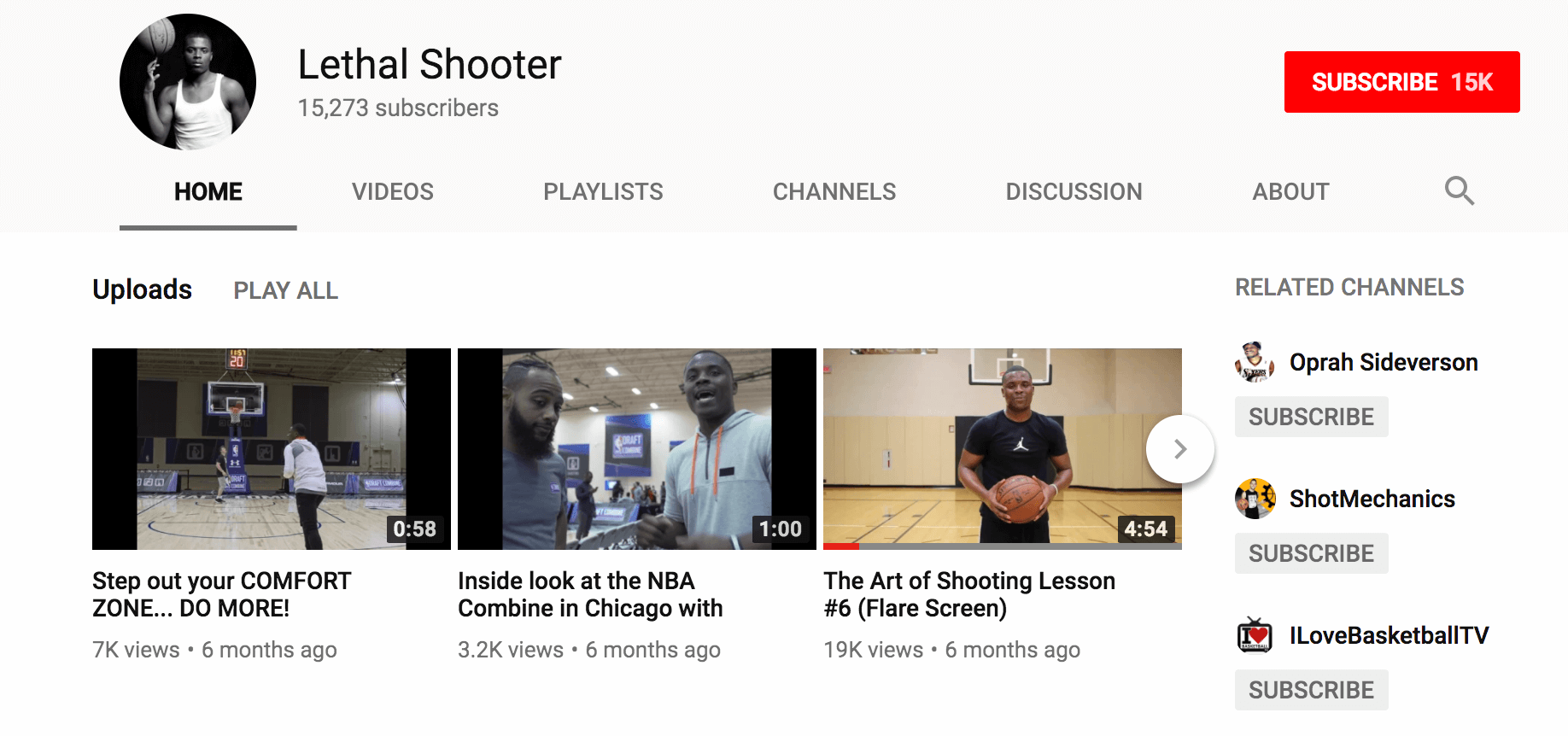 Screenshot showing Lethal Shooter