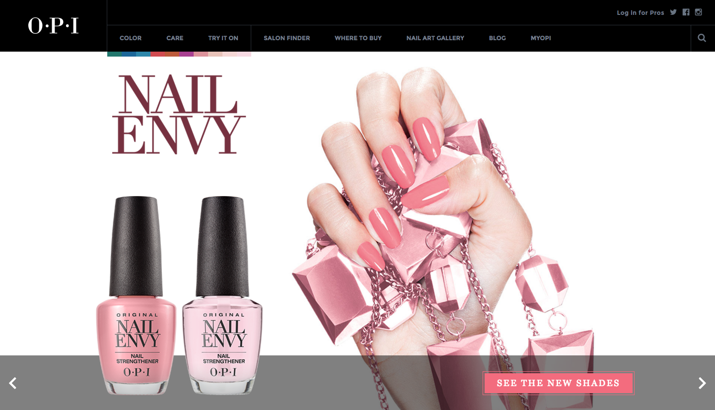 OPI using a power word to make their product more appealing
