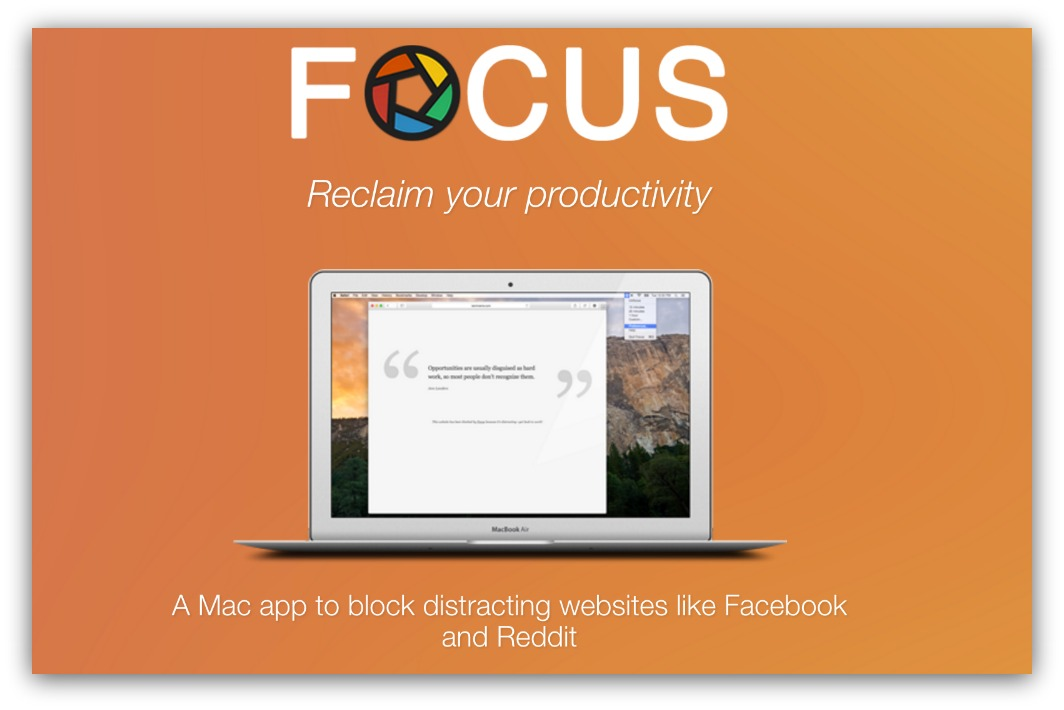 focus mac app