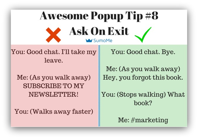 Pop ups arent dead what we learned analyzing 2 billion pop up pop up tip ask on exit fandeluxe Image collections
