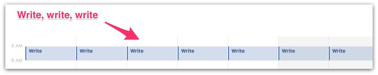 content creation calendar