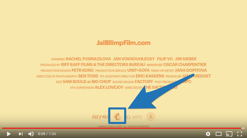 Screenshot showing a youtube video