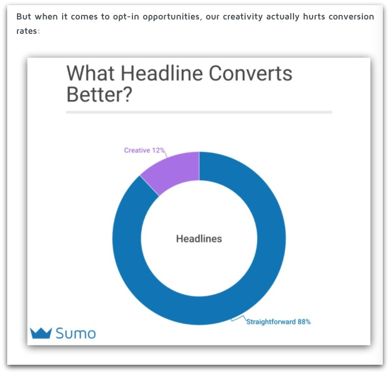 what headline converts better