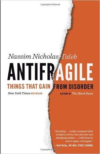 Cover art for Antifragile