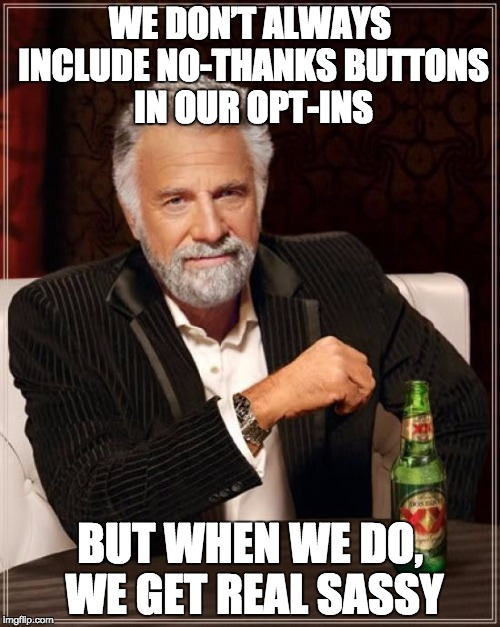 Meme showing the most interesting man in the world